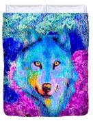 Dream Wolf Duvet Cover