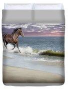 Dreamer On The Beach Duvet Cover