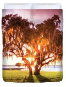 Dreaming At Sunrise Duvet Cover