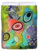 Dreaming In Colour 2 Duvet Cover