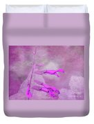 Dreaming In Pink Duvet Cover