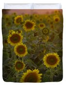 Dreaming In Sunflowers Duvet Cover