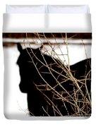 Dreaming Of Black Beauty Duvet Cover