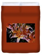 Dreaming Of Lilies 5 Duvet Cover