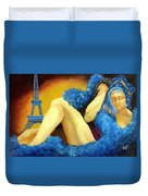 Dreaming Of Paris Duvet Cover