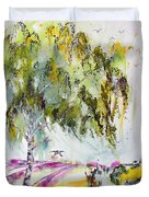 Dreaming Of Provence Duvet Cover