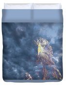Dreaming Of The Sky Duvet Cover