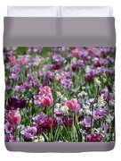 Dreaming Of Tulips Duvet Cover