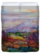 Dreaming Pikes Peak Duvet Cover
