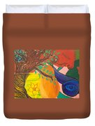Dreaming Tree Abstract Duvet Cover
