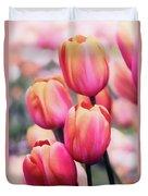 Dreaming Tulips Duvet Cover