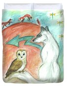 Dreamkeepers Duvet Cover by Brandy Woods