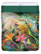 Dreams About Chagall. The Sky Violin Duvet Cover
