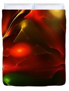 Dreams Of Christmas Past Duvet Cover