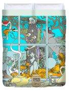 Dreams Of Fish Duvet Cover