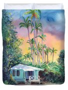 Dreams Of Kauai Duvet Cover