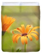 Dreams Of Orange Symphony In Spring 2 Duvet Cover
