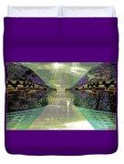 Dreamtime Gondwanaland Duvet Cover