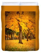 Dreamy Autumn Day Duvet Cover