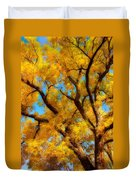 Dreamy Crisp Autumn Day Duvet Cover