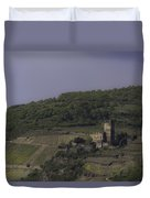 Dreamy Gutenfels Castle Duvet Cover