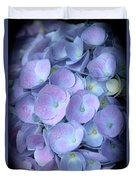 Dreamy Hydrangea In Purple And Blue  Duvet Cover
