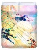 Dreamy Pastel Carnival Duvet Cover