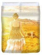 Dreamy Summer Fields Duvet Cover