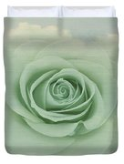 Dreamy Vintage Floating Rose Duvet Cover