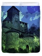 Dreary Fortress Duvet Cover
