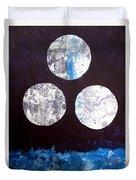 Drei Monde Duvet Cover