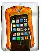 Dressing Iphone Duvet Cover