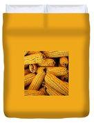 Dried Corn Cobs Duvet Cover