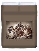 Dried Hydrangeas Duvet Cover
