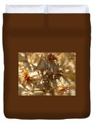 Dried Safflower Duvet Cover