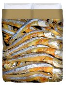 Dried Small Fish 3 Duvet Cover