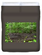 Dried Up  Pond Duvet Cover