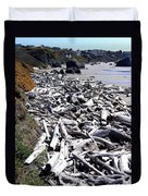 Driftwood By The Ton Duvet Cover