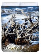 Driftwood Lace Duvet Cover