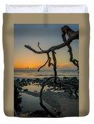 Driftwood Sunrise Duvet Cover