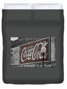 Drink Coca Cola Roanoke Virginia Duvet Cover
