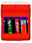 Drink Vending Machines Duvet Cover