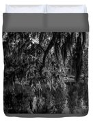 Drippin With Spanish Moss At Middleton Place Duvet Cover