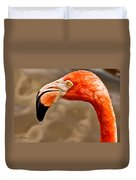 Dripping Flamingo Duvet Cover