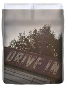Drive In II Duvet Cover