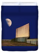 Drive-in Moon Duvet Cover