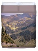Drive In The Mountains Duvet Cover