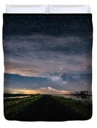 Drive Into The Wild Duvet Cover