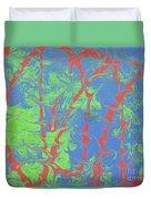 Drive Naked - V1sh100 Duvet Cover