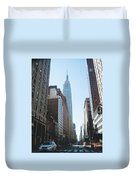 Drive Though The City  Duvet Cover